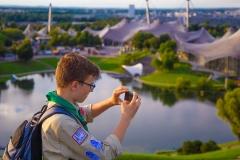 Tolle Fotomotive bieten sich auf dem Olympiaberg